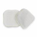 Carrés démaquillants lavables en coton bio pour un démaquillage zéro déchet