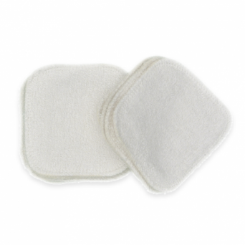 Carrés démaquillants lavables en coton (par 10)