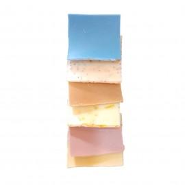 Pochette d'échantillons de savons