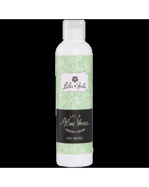 Gel d'aloe vera frais et naturel pour le visage aux vertus hydratantes, apaisantes et régénérantes