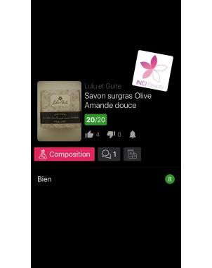 SAVON SURGRAS OLIVE-AMANDE DOUCE