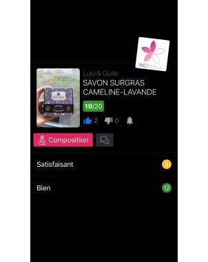 SAVON SURGRAS CAMELINE-LAVANDE