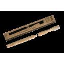 Brosse à dents en bambou avec tête interchangeable - modèle Adulte - Medium