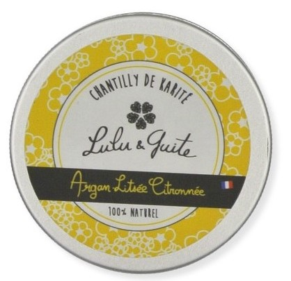 chantilly de karité argan-litsée citronnée