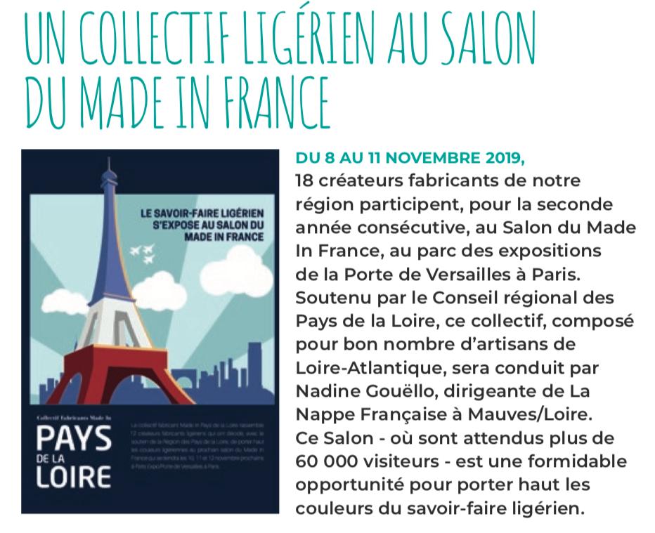 collectif Pays de la Loire au MIF